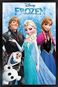 "Trends International 24X36 Disney Pixar Frozen - Group Wall Poster, 24"" x 36"", Unframed Version"