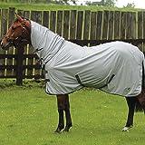 Masta Avante Fly Mesh Horse Rug Grey