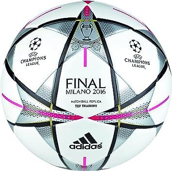 adidas Final Milanottrain - Balón para Hombre, Color Blanco/Negro ...