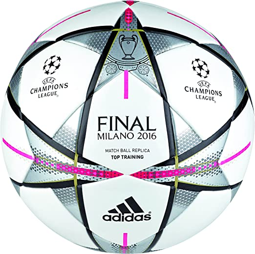 3 opinioni per adidas Performance palla Finale Milano Top Training, bianco, 5, AC5496