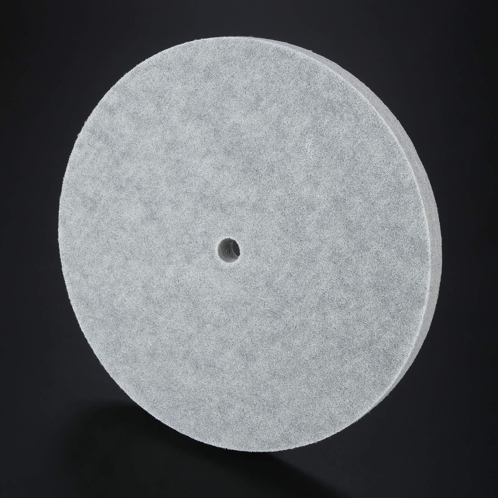 1 PC Thickness Nylon Fiber Polishing Wheel Non-Woven Unitized Wheel 5P 180#, 300MM by Yetaha (Image #5)