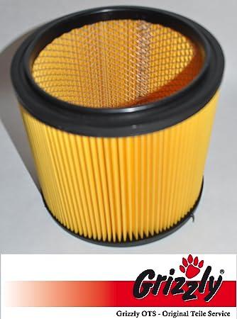 Grizzly Tools Filtro//filtro de larga duraci/ón LIDL Parkside PNTS 1400 B1 IAN 66443 lavable referencia 91099009 IAN 74286 de acero rejilla interior