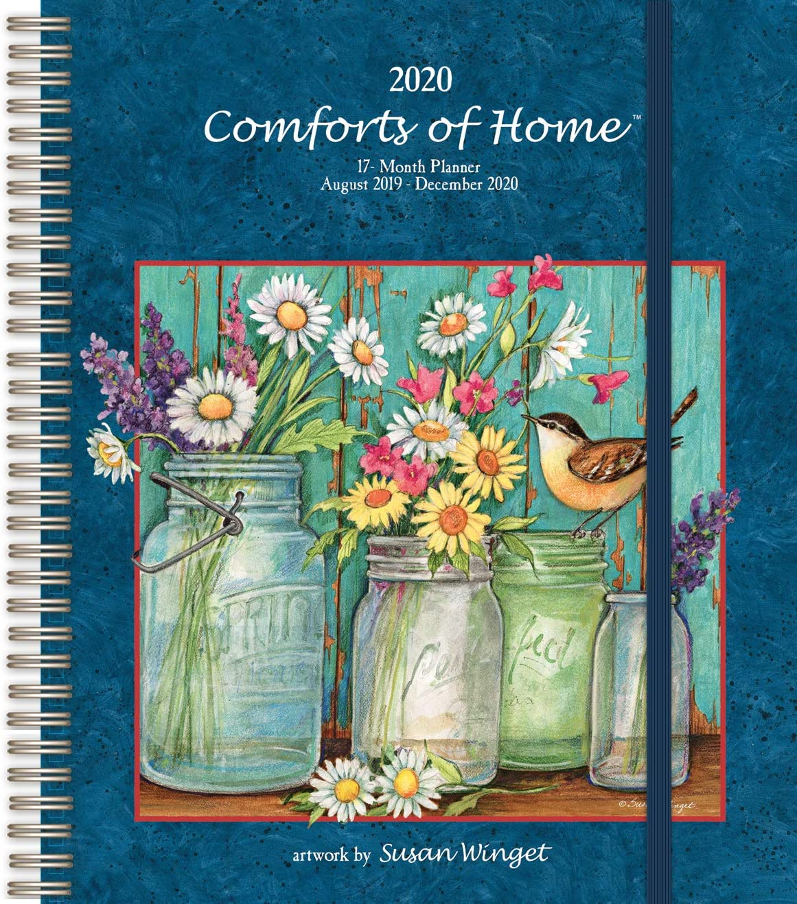 Wells Street by LANG WSBL Comforts of Home 2020 Deluxe Planner (20997061046) Personal Organizer (20997061046)
