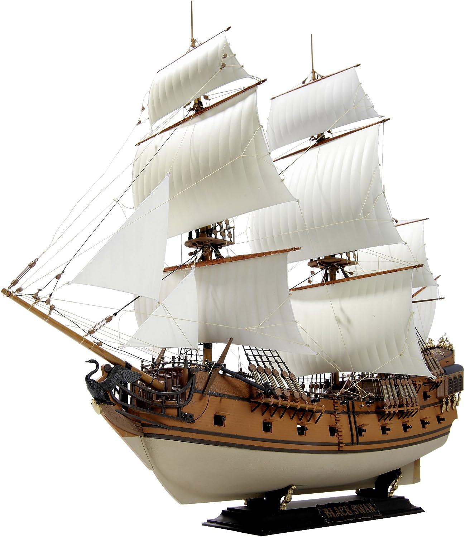 Amazon.com: Zvezda Models 1/72 Pirate Ship Black Swan: Toys & Games