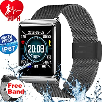 Amazon.com: 2019 New Version Smart Watches Fitness&Health ...