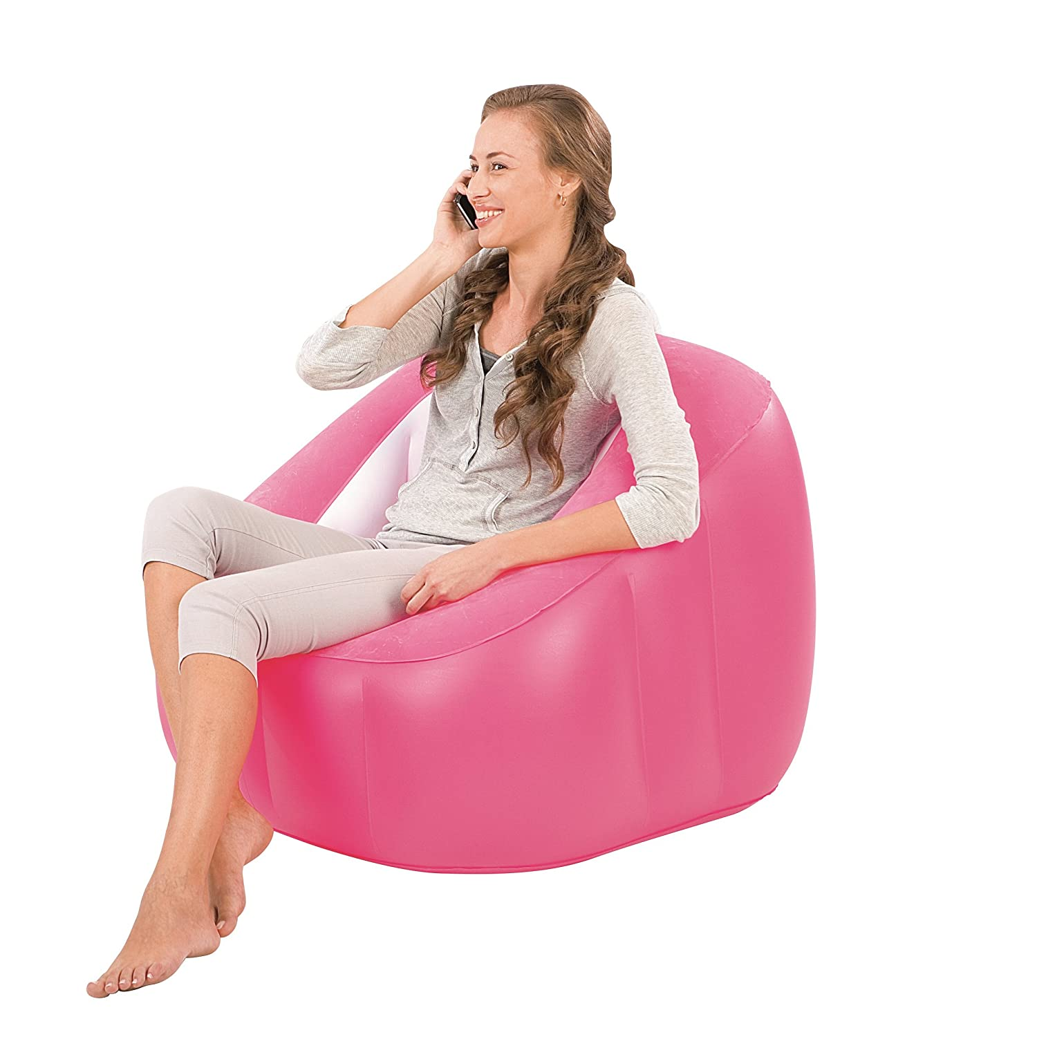 Amazon Bestway fi Cube Inflatable Chair Blue Kitchen