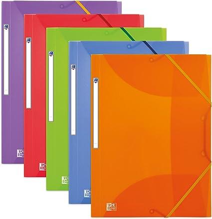 Elba Opale - Pack de 10 carpetas de gomas plástico translúcido ...