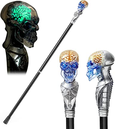 walking stick handle//Skull//Gothic style 3