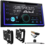 JVC Stereo Receiver w/Bluetooth/USB/iPhone/XM for 2012 Dodge Ram 1500/2500/3500