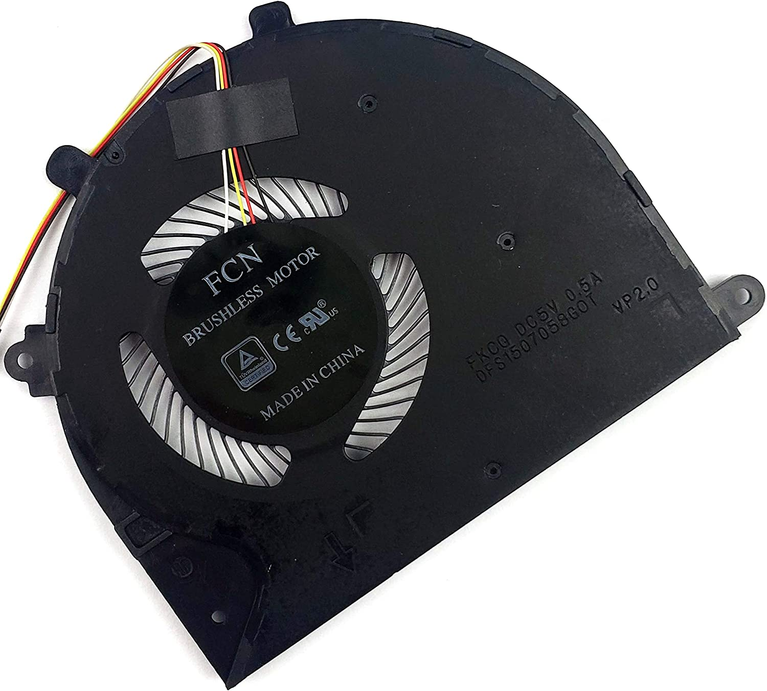 CPU Cooling Fan for Razer Blade Stealth RZ09-0239 Series Laptop