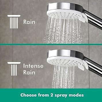 Hansgrohe Crometta S 240 - Sistema de ducha, 2 tipos de chorro, cromo: Amazon.es: Bricolaje y herramientas