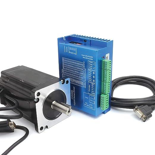 8N.m Nema34 Controlador de motor paso a paso de bucle cerrado Servo Motor HSS86 Servo Driver Controller: Amazon.es: Industria, empresas y ciencia