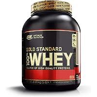 Optimum Nutrition Gold Standard Whey Protein Pulver (mit Glutamin und Aminosäuren. Eiweisspulver von ON) Chocolate Hazelnut, 70 Portionen, 2,24kg