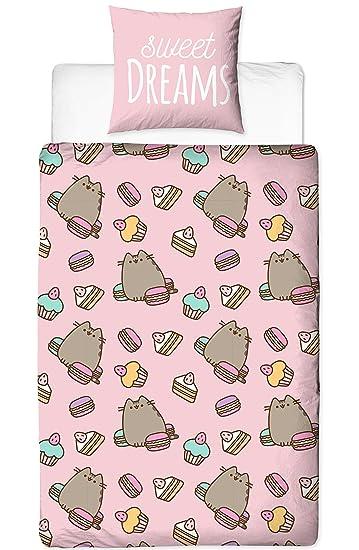 Pusheen Bettwäsche Mädchenbettwäsche Sweet Dreams Cat Süße Katze