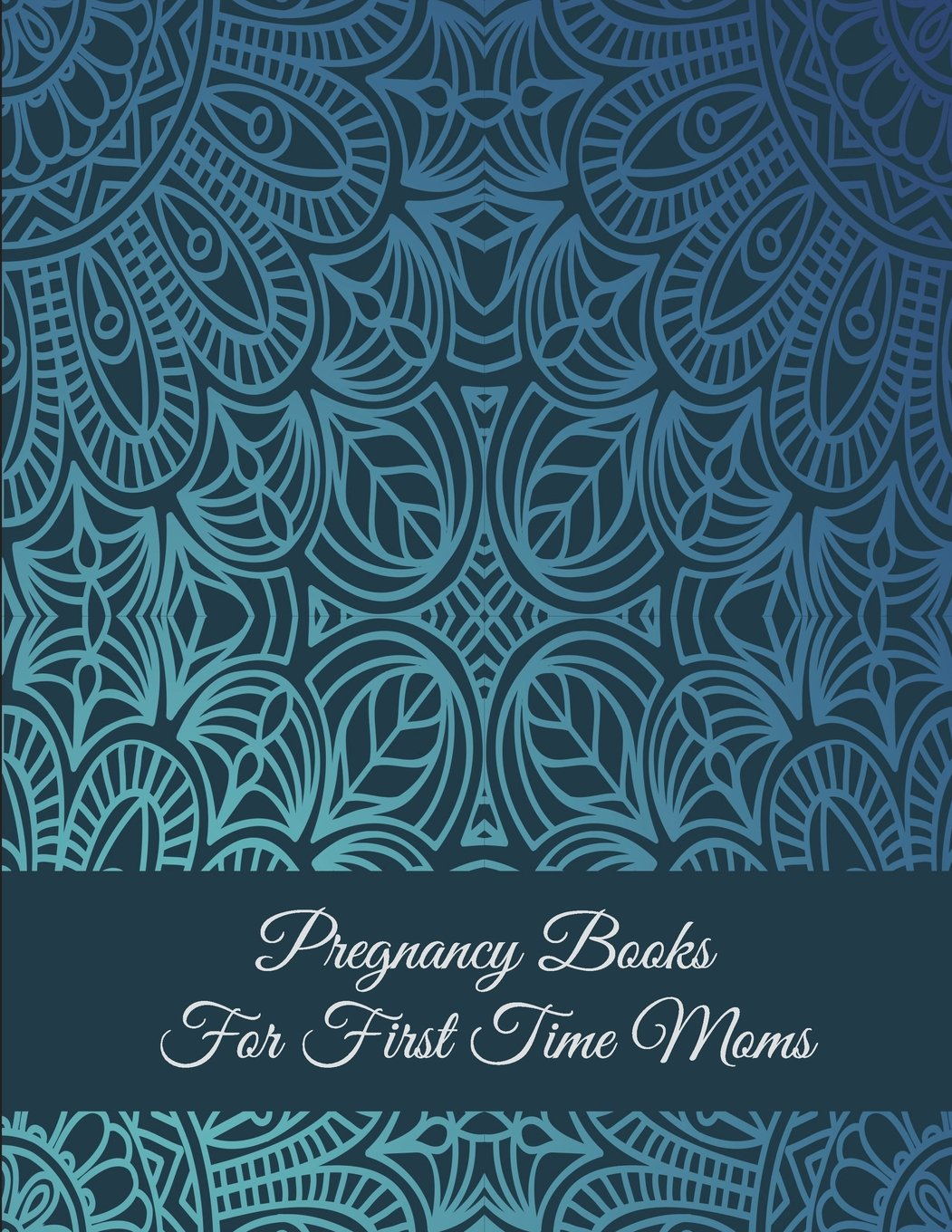 """Download Pregnancy Books For First Time Moms: Art Blue Color, Pregnancy Record Book Large Print 8.5"""" x 11"""" Pregnancy Memory Book With Monthly To Do Notes pdf epub"""