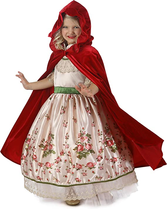 Princess Paradise Vintage Red Riding Hood Costume, Multicolor, Small/6
