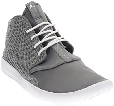 cf104e820f JORDAN KIDS JORDAN ECLIPSE CHUKKA BG GREY WHITE COOL GREY-WHITE SIZE 4