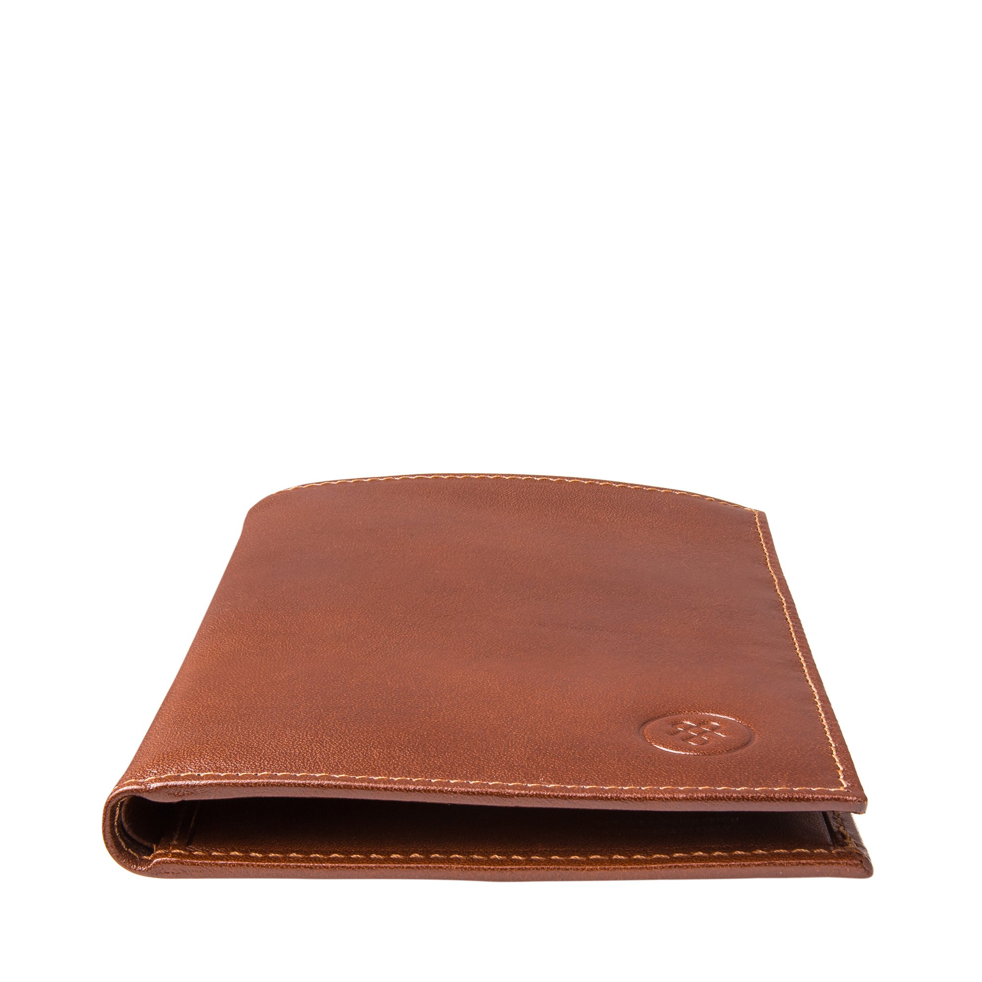 Maxwell Scott Luxury Tan Leather Jacket Wallet - One Size (The Pianillo) by Maxwell Scott Bags (Image #4)