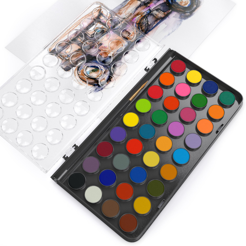 Arteza 36 Colores - Acuarela En Pastillas