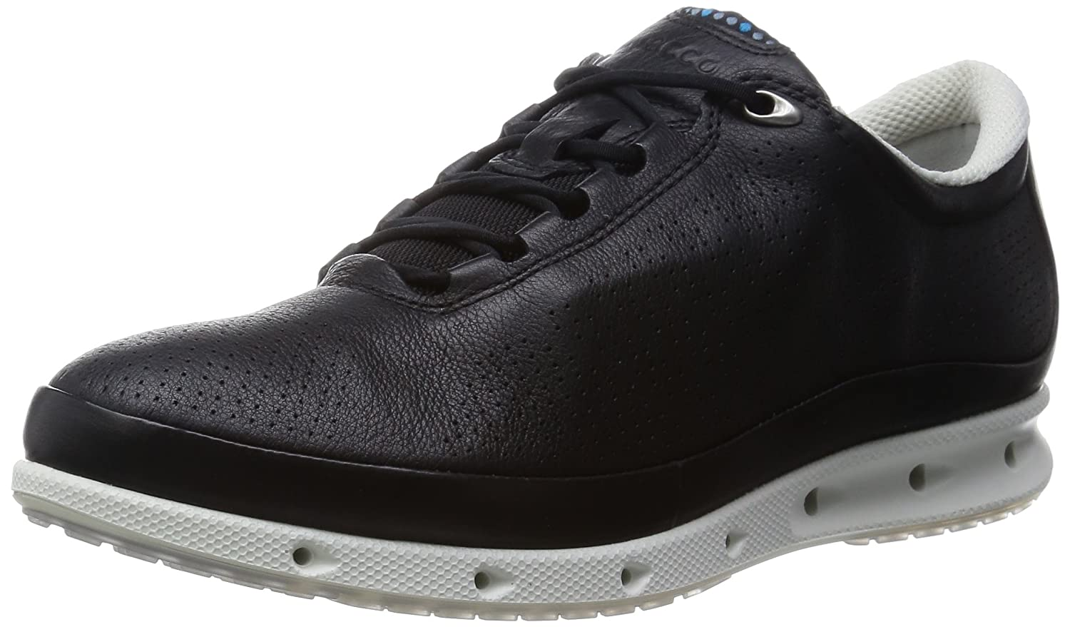 Ecco Cool, Chaussures Multisport Outdoor Femme, Noir (Black/White), 37 EU
