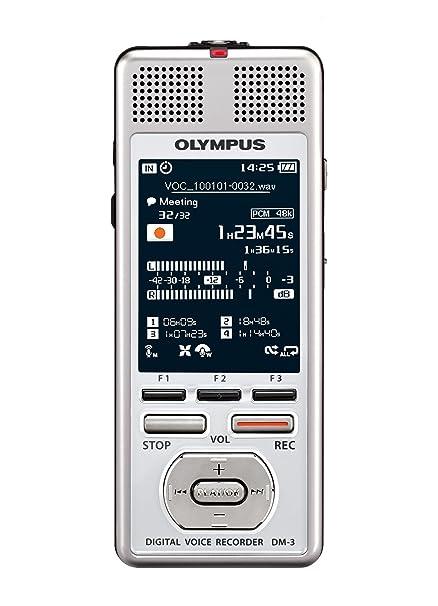 Olympus - Grabadora Digital DM-3 - incluye funda y software Sonority, color blanco