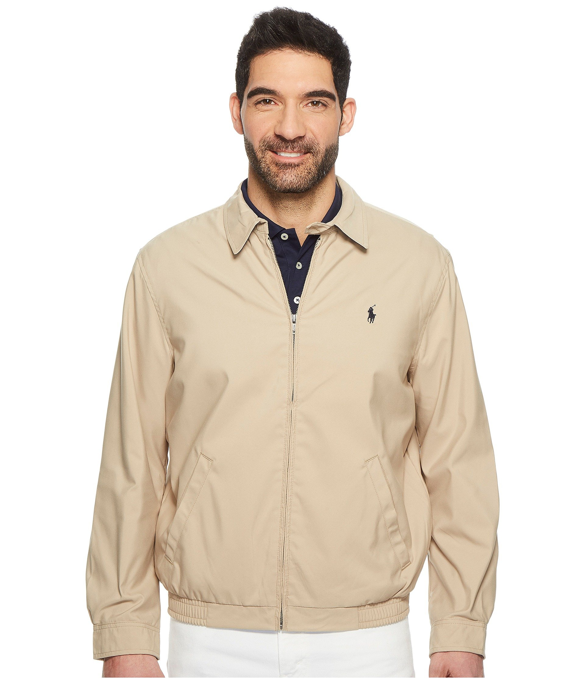 06401922238aae Galleon - Polo Ralph Lauren Mens Bi-Swing Windbreaker Jacket (Khaki,  XX-Large)