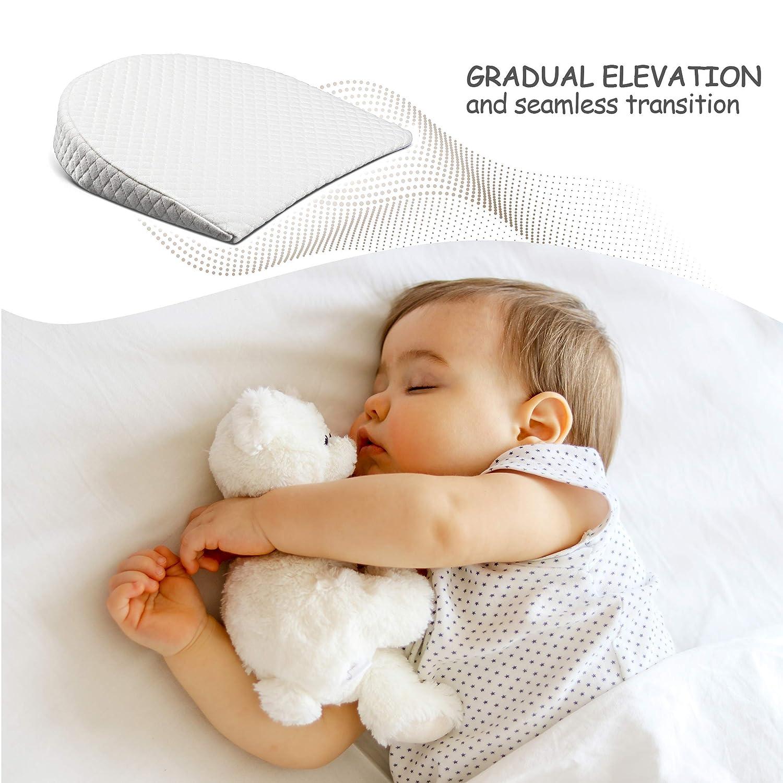 Amazon.com: Zermätte - Almohada de cuña para bebé reflujo ...