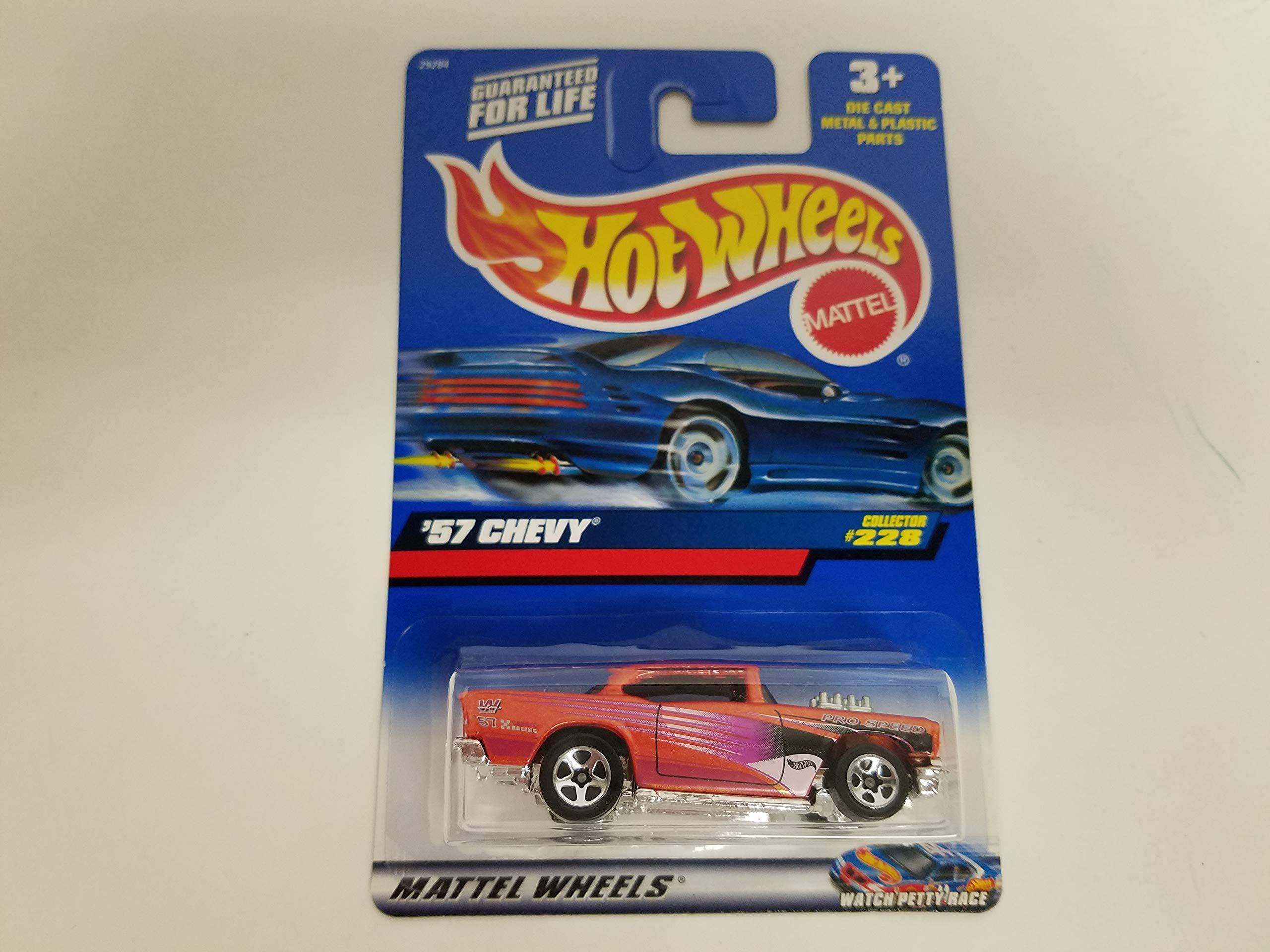 '57 Chevy 2000 Hot Wheels 1/64 Scale diecast car No. 228