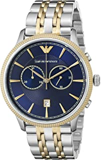 0de4773f8 Amazon.com: Emporio Armani Men's AR6088 Sport Two Tone Watch ...