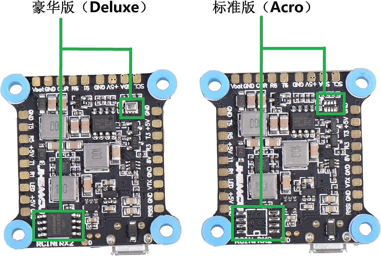 OUYAWEI JHEMCU Dual Gyro F7 Controlador de Vuelo AIO OSD 5V 8V BEC y Black Box 30.5x30.5mm para RC Drone FPV Racing Repuestos de helicópteros múltiples Edición estándar: Amazon.es: Juguetes y juegos
