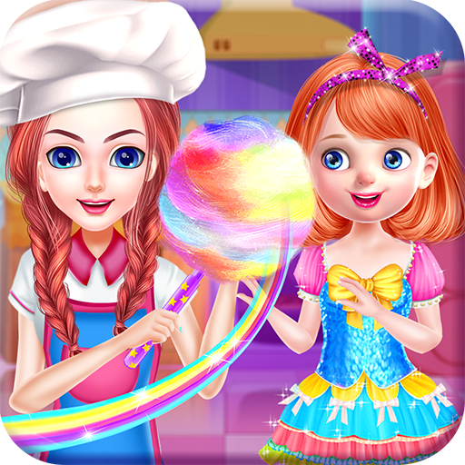 (Cotton Candy Cooking & Decoration)