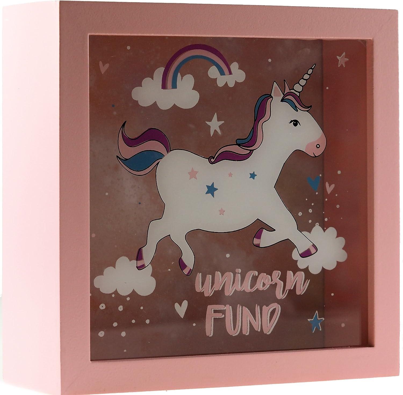 Unicorn Fund Money Box Childrens Gift Saving Box