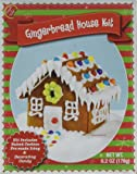 """Make Your Own Mini Gingerbread House Kit From Create-A-Treat with Pre-baked Cookies, Icing, & Decorative Candy - 2.6"""" Tall"""