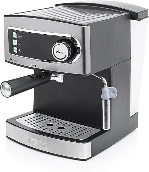 Princess 249407 Máquina de café Espresso, 15 bares de presión ...