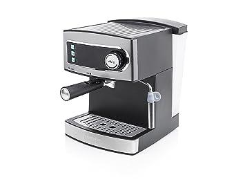 Princess 249407 Cafetera Espresso 15 Bar, depósito, de Agua de 1,6 L, 850 W, 1.6 litros, Acero Inoxidable: Amazon.es: Hogar