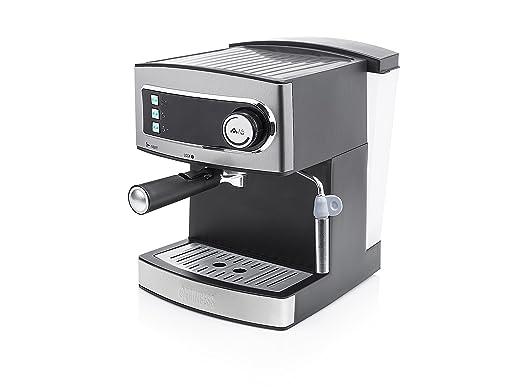 Princess 249407 Cafetera Espresso 15 bar, depósito, de agua de 1,6 ...