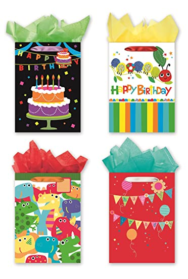 Amazon 4 Jumbo Party Gift Bags Birthday