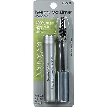 Neutrogena Healthy Volume Mascara, Black 02, 0.21 Oz.