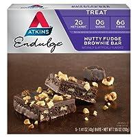 Atkins Endulge Bars Nutty Fudge Brownie, Nutty Fudge Brownie 5/7.1 Oz