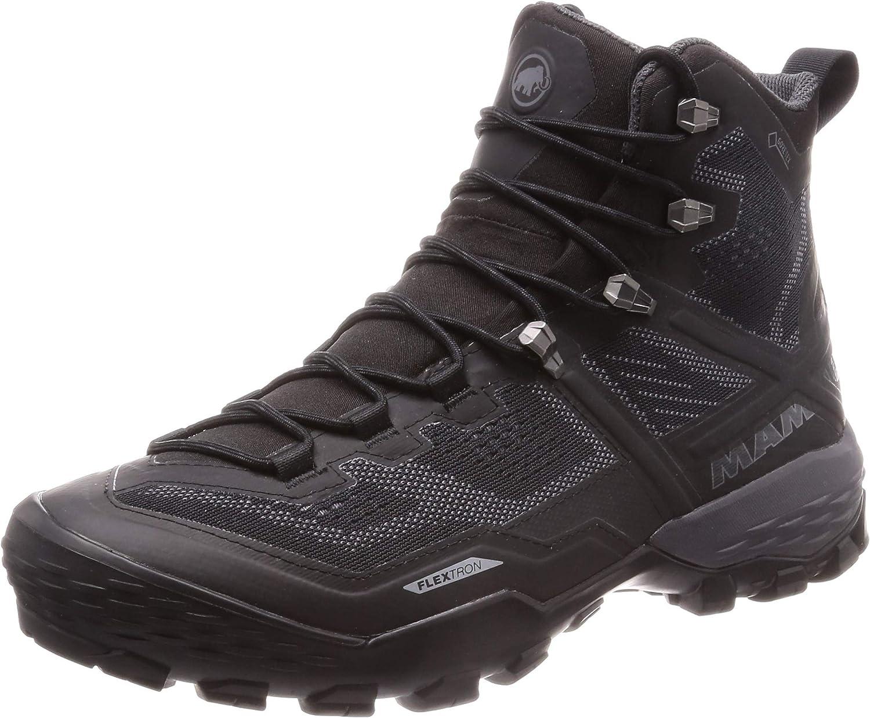 [マムート] デュカン ハイ ゴアテックス メンズ/Ducan High GTX Men デュカン、Ducan black-black 25 cm 25cm