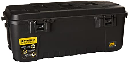 New Heavy Duty Plano Military Storage Trunk Black  sc 1 st  Amazon UK & New Heavy Duty Plano Military Storage Trunk Black: Amazon.co.uk ...