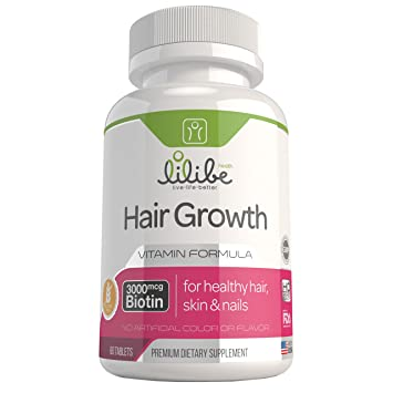 Amazon.com: Hair Skin and Nails Vitamins with 3000mcg Biotin for ...