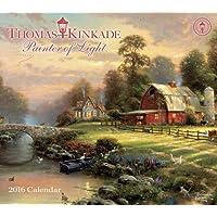 Thomas Kinkade Painter of Light 2016 Deluxe Wall Calendar