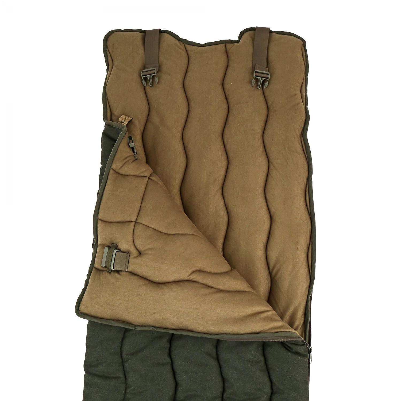 Carinthia Loden - Saco de dormir para caza (silencioso, con bolsillo para manos), color verde oscuro: Amazon.es: Equipaje