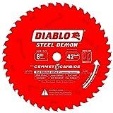 Diablo D0842CF 8-inch Steel Demon 42T Cermet II