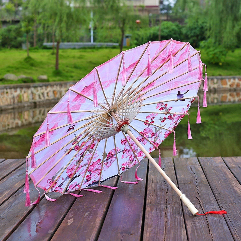 Tassels women Umbrella corporation Japan Umbrellas Classical Ancient Costume Prop Umbrella paraguas parasol parapluie sombrilla,A02