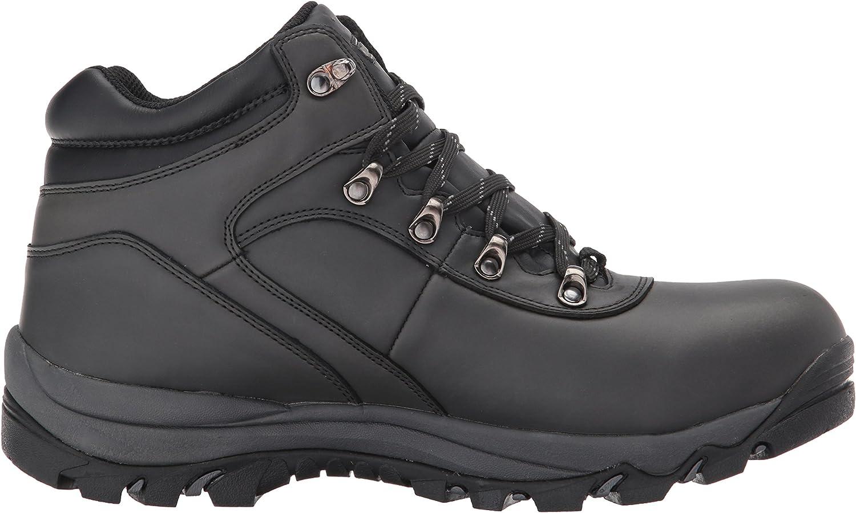 Black, Northside Mens Apex Mid Hiking Boot
