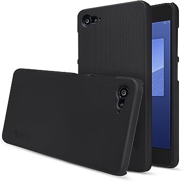 MYLB PU funda case cubierta cover para ZUK Z2 smartphone (Negro ...