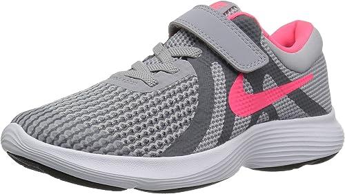Nike Revolution 4 (PSV), Zapatillas para Niñas, Multicolor (Wolf ...