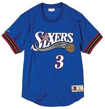 Mitchell & Ness Allen Iverson Philadelphia 76ers NBA - Camiseta de malla para hombre, ...